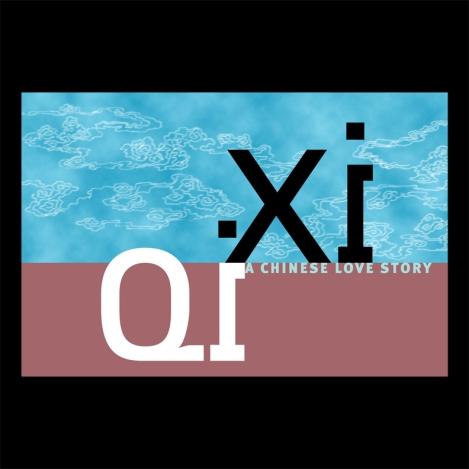 QiXi Logotype and Typographic Lock up