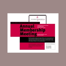 Annual Members Meeting Invitation
