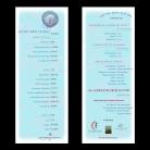 Event Menu and Program